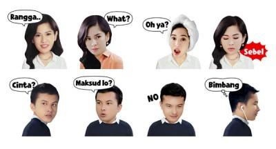 LINE Luncurkan Stiker AADC 2014: 'Cinta &Rangga