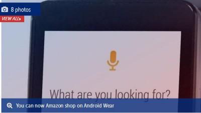 Anda Kini Bisa Belanja Dari Amazon di Smartwatch AndroidWear
