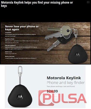 Motorola Keylink, Bantu Anda Temukan Ponsel YangHilang