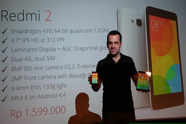Xiaomi Redmi 2 Dijual Hanya Rp1Jutaan